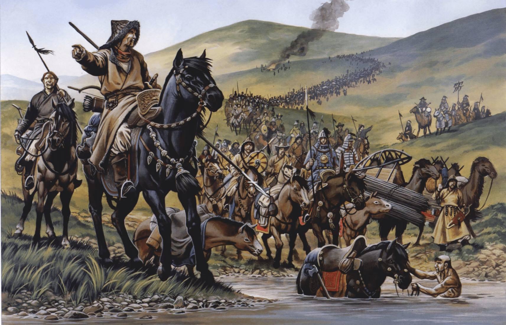 El ejército mongol
